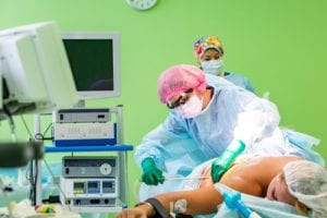 img-blog-cosmetic liposuction surgery in actual operating room