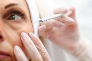Injectable Treatment Near the Eye