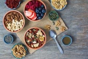 Paleo style breakfast